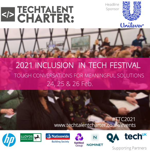 2021 Inclusion in Tech Festival - Tough conversations for meaningful solutions